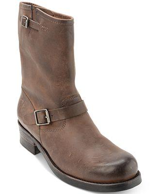 Polo Ralph Lauren Men\'s Eldin Leather Calf Boots - All Men\'s Shoes ...