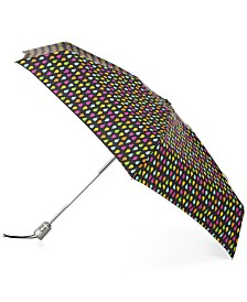 Totes SunGuard® Auto Open Close Compact Umbrella with NeverWet®