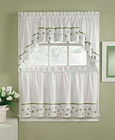 Clover Valance, Swag and Tier Pair Collection