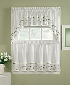 CHF Clover Valance, Swag and Tier Pair Collection