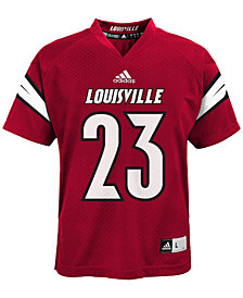 adidas Toddlers' #23 Louisville Cardinals Replica Football Jersey