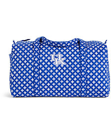 Vera Bradley Kentucky Wildcats Large Duffel