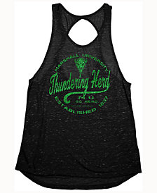 Blue 84 Women's Marshall Thundering Herd Confetti Twist Back Tank