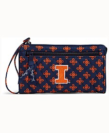 Vera Bradley Illinois Fighting Illini Wristlet