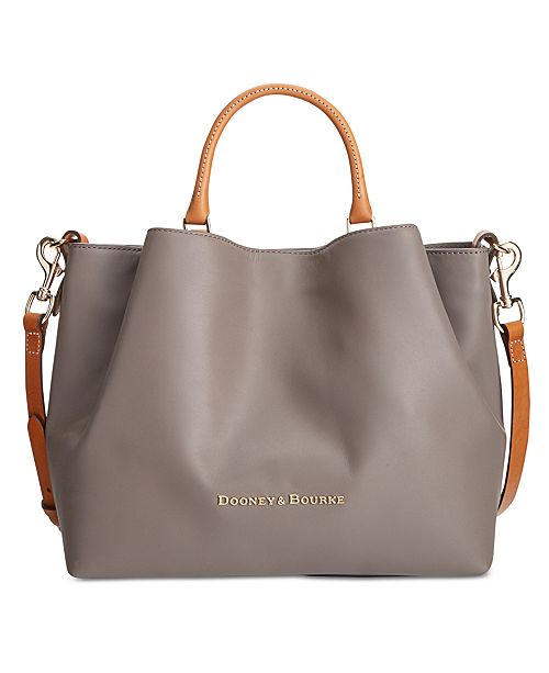 31725bd368a Dooney   Bourke Large Barlow Satchel - Handbags   Accessories - Macy s