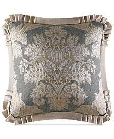 "J. Queen New York Rialto 20"" Square Decorative Pillow"