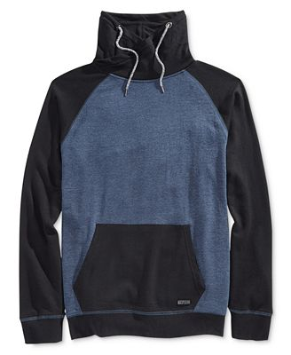 Univibe Men's Funnel Fleece Sweatshirt