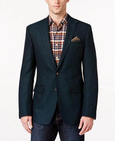 Tallia Big & Tall Men's Herringbone Sport Coat