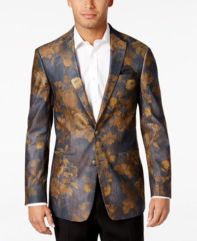 Tallia Men's Floral Print Sport Coat