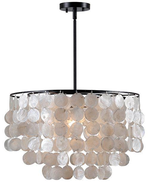 Kenroy Home Shelby Shell Pendant Light