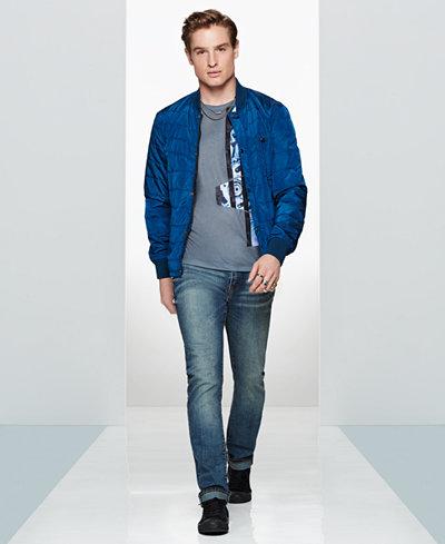 WILLIAM RAST Men's Softshell Jacket, Graphic T-Shirt & Slim-Fit Jeans