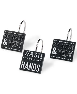 Chalk It Up Shower Hooks