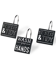 Avanti Chalk It Up Shower Hooks