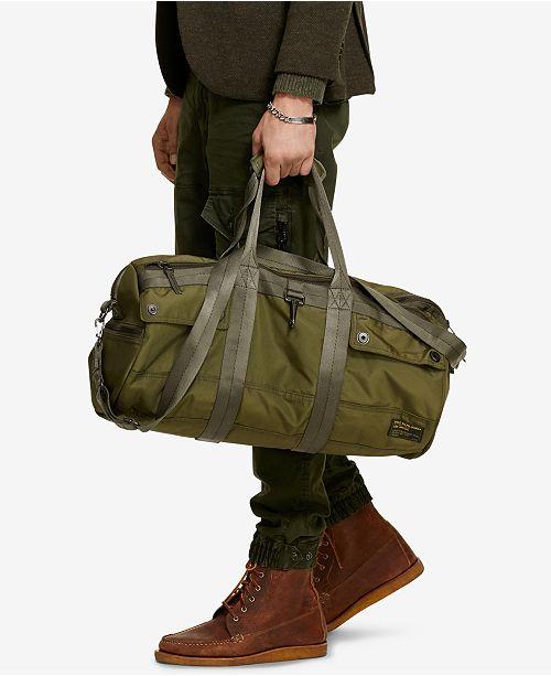 03ce2cc79b Polo Ralph Lauren Men s Military Duffel Bag   Reviews - All ...
