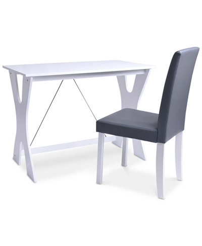 Bermond Desk & Chair, Quick Ship
