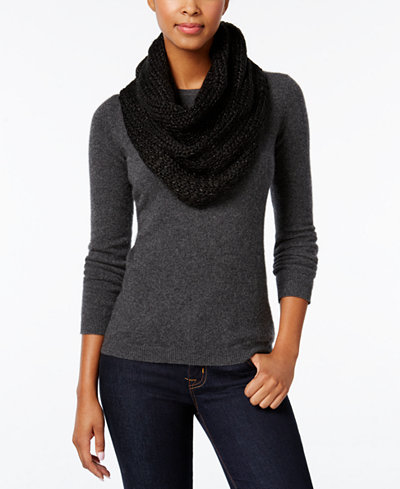 BCBGeneration Thick and Thin Infinity Loop Scarf, A  Exclusive Style
