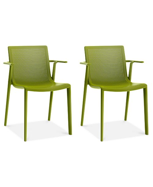 Resol Grupo Beekat Set of 2 Indoor/Outdoor Armchairs, Quick Ship
