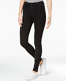 Juniors' High-Waist Skinny Ponte Pants