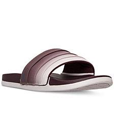 adidas Women's Adilette Cloud Foam + Armad Slide Sandals from Finish Line