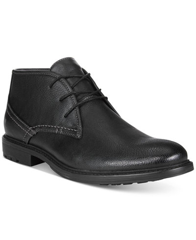Unlisted by Kenneth Cole Men's On the Subject Plain-Toe Chukka ...