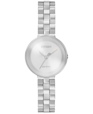 Citizen Women's Silhouette Stainless Steel Bracelet Watch 25