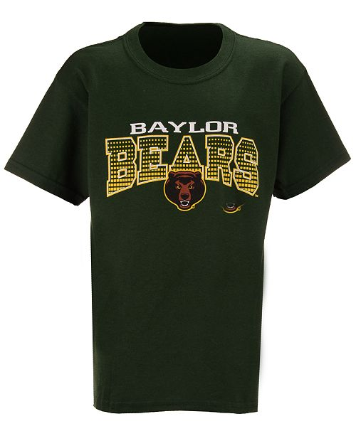 J America Kids'  Baylor Bears Bridge T-Shirt, Big Boys (8-20)