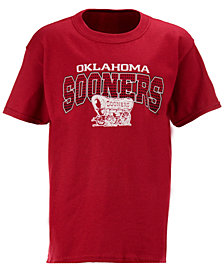 J America Kids'  Oklahoma Sooners Bridge T-Shirt, Big Boys (8-20)
