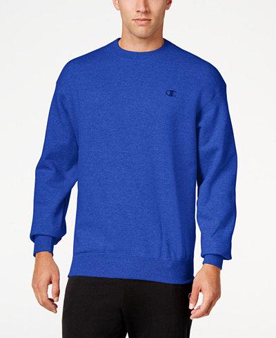 Champion Men's Powerblend Fleece Sweatshirt - Hoodies ...