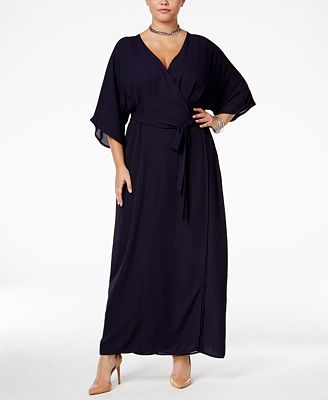 Standards and Practices Trendy Plus Size Olivia Maxi Dress