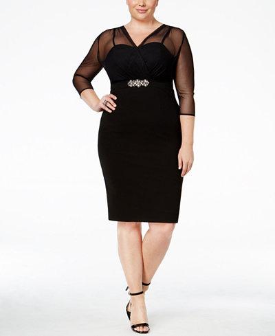 Alex Evenings Plus Size Dress Macys Plus Size Tops