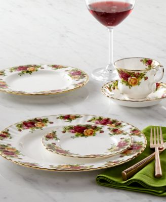 Royal Albert Old Country R.. & Wedgwood Dinnerware Nantucket Basket Collection - Fine China - Macyu0027s