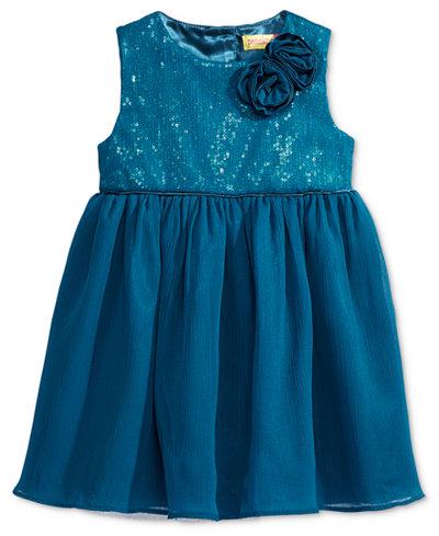 Penelope Mack Sequins & Mesh Tulle Dress, Baby Girls (0-24 months)