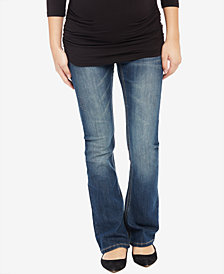 Motherhood Maternity Boot-Cut Dark Wash Jeans