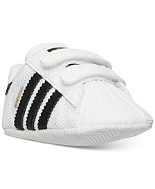 adidas Toddler Boys' Superstar Crib Casual Sneakers from Finish Line