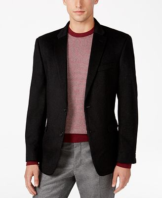 Tommy Hilfiger Men's Cashmere Slim-Fit Sport Coat - Blazers