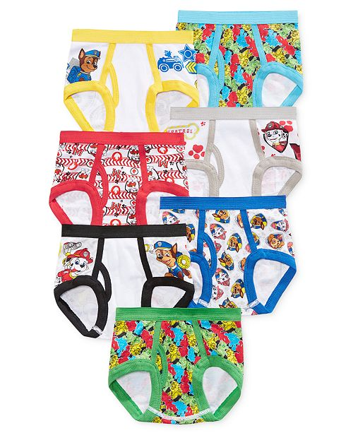 PAW Patrol Nickelodeon's® Briefs, 7-Pk., Toddler Boys