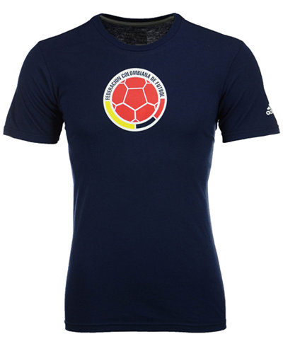 adidas Men's Colombia National Team Crest Performance T-Shirt