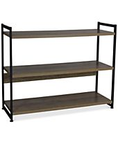 Household Essentials Ashwood Wide Modular Shelf