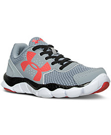 Under Armour Little Boys' Engage BL Running Sneakers from Finish Line