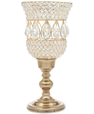 Lighting by Design Crystal Hurricane Candle Holder