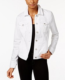 Denim Jacket, In Regular and Petite, Created for Macy's