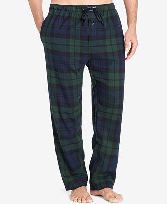 Polo Ralph Lauren Men's Big & Tall Flannel Pajama Pants - Pajamas ...