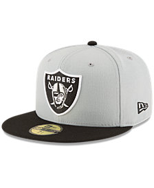 New Era Oakland Raiders Team Basic 59FIFTY Fitted Cap