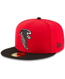 Atlanta Falcons Team Basic 59FIFTY Fitted Cap