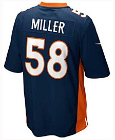 Von Miller Denver Broncos Game Jersey, Big Boys (8-20)