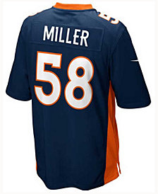 Nike Von Miller Denver Broncos Game Jersey, Big Boys (8-20)