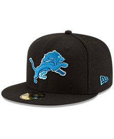 New Era Detroit Lions Team Basic 59FIFTY Fitted Cap
