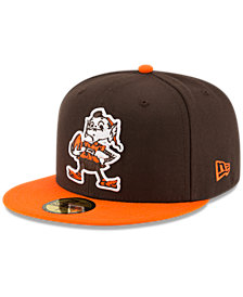 New Era Cleveland Browns Team Basic 59FIFTY Fitted Cap