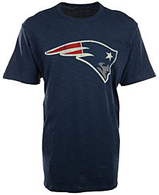 '47 Brand Men's New England Patriots Logo Scrum T-Shirt