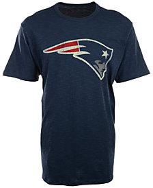 '47 Brand Men's New England Patriots Logo Scrum T-Shirt